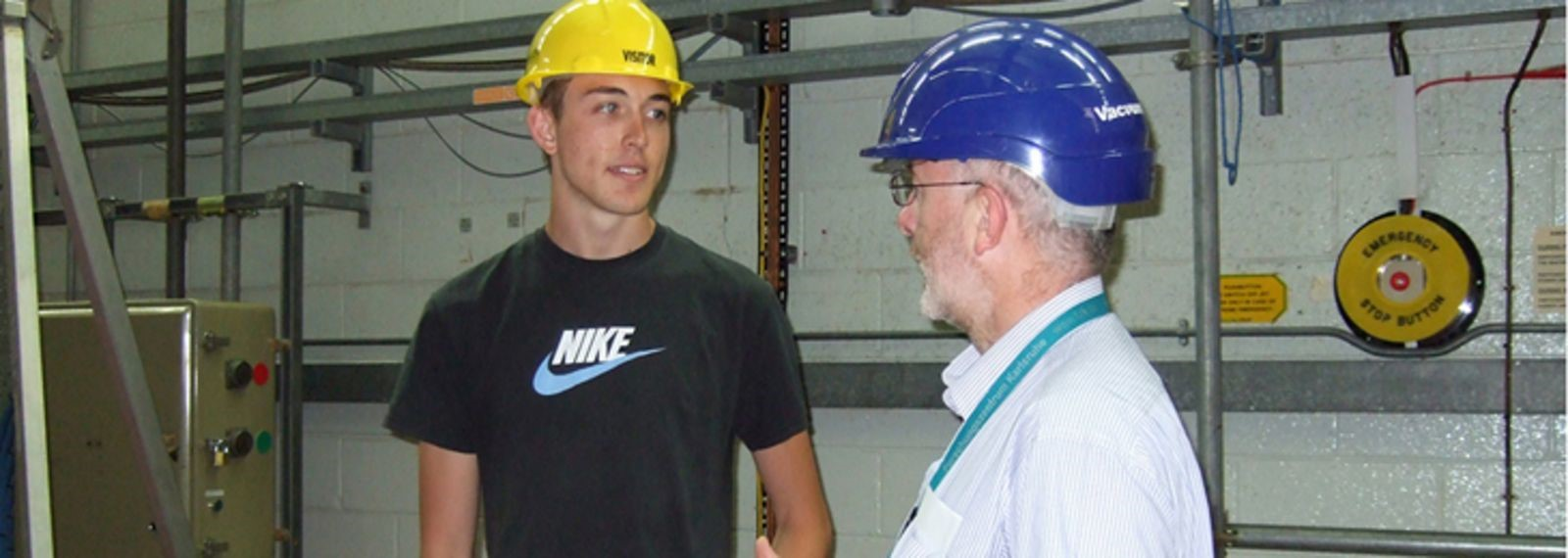 At the JET Fusion Experiment in Culham England 2010