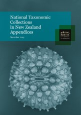 Appendices National Taxonomic Collections in New Zealand 2015cover Custom