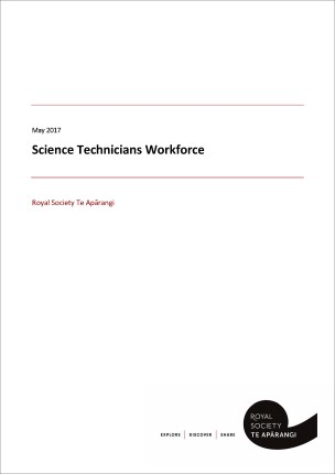 Cover Science Technicians Workforce Report May 2017