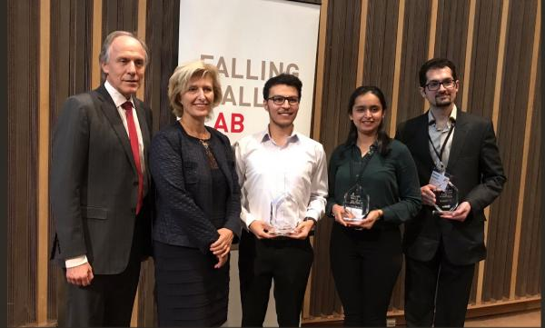 Falling Walls winners