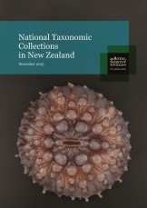 RSNZ National Taxonomic Collections in New Zealand 2015 cover