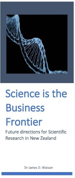 Science is the Business Frontier cover crop