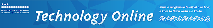 Technology on Line banner full